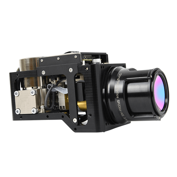 Ventus OGI mid-wave infrared camera