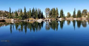 Winnemucca Lake reflections
