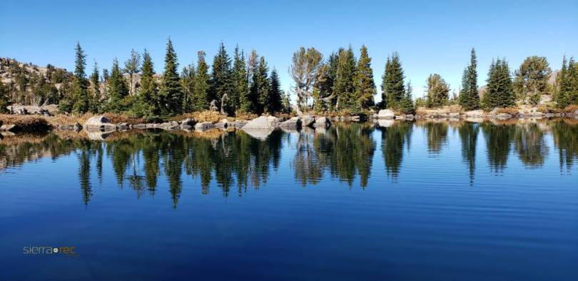 Winnemucca Lake reflections