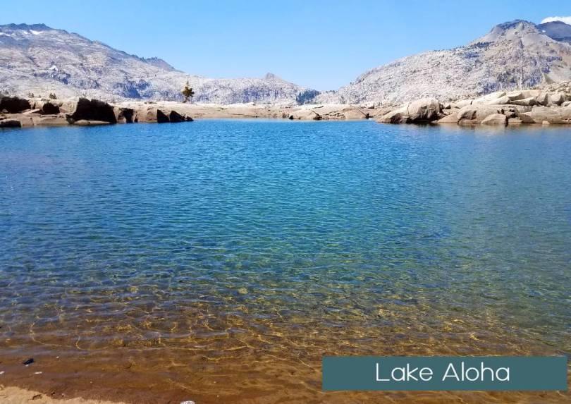 Hiking to Lake Aloha 2018