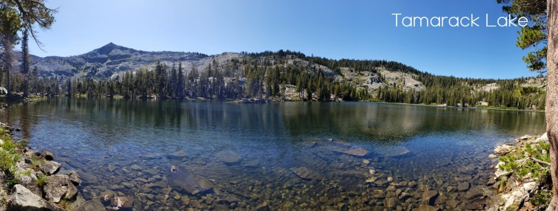 Tamarack Lake Desolation wilderness