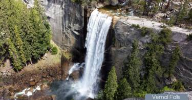 Vernal Falls Yosemite National Park hikes