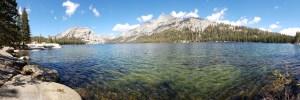 Tenaya lake Pano - Yosemite National park