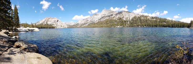 Tenaya lake Pano - Yosemite National park