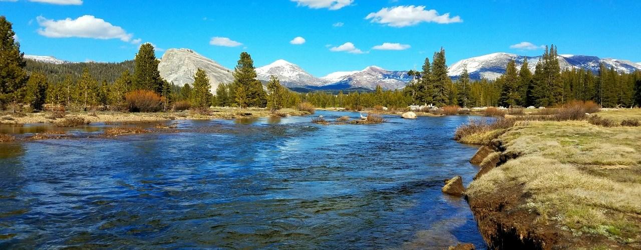 Tuolumne River Yosemite National Park
