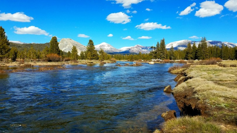 Tuolumne River Yosemite National Park