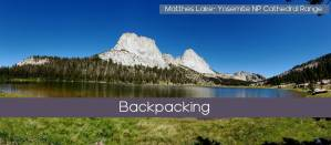 Backpacking header Mathes Lake