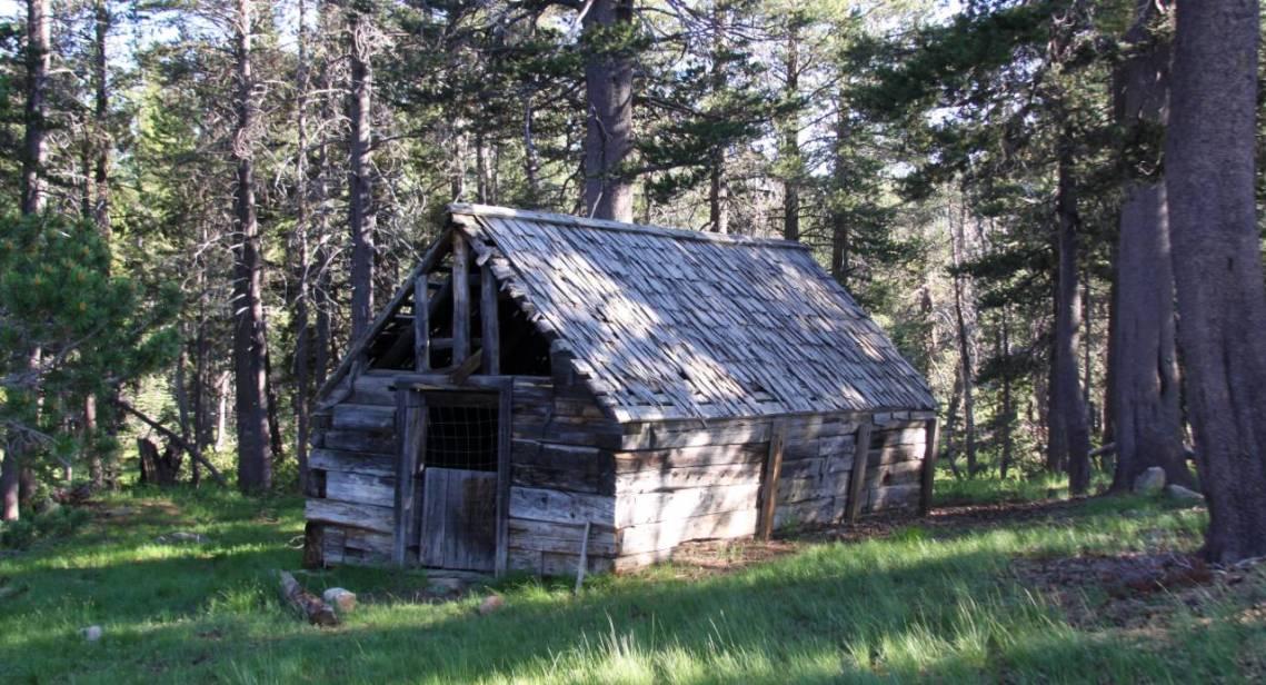 Eldorado National Forest Blue Lakes Cabin
