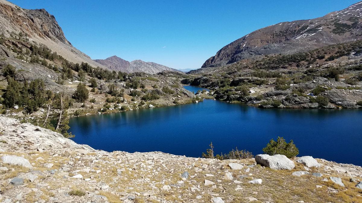 Excelsior Lake into Shamrock Lakes- 20 Lakes region
