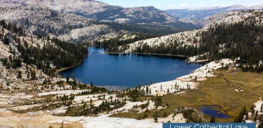 Lower Cathedral Lake Yosemite National Park
