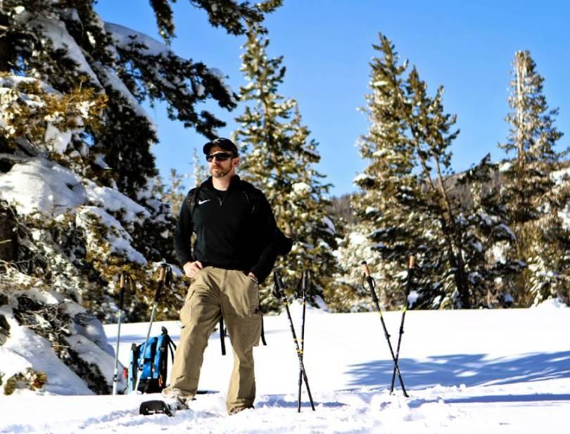 Snowshoe North Lake Tahoe Tahoe Chickadee Ridge