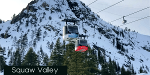 Squaw Valley Winter Lift