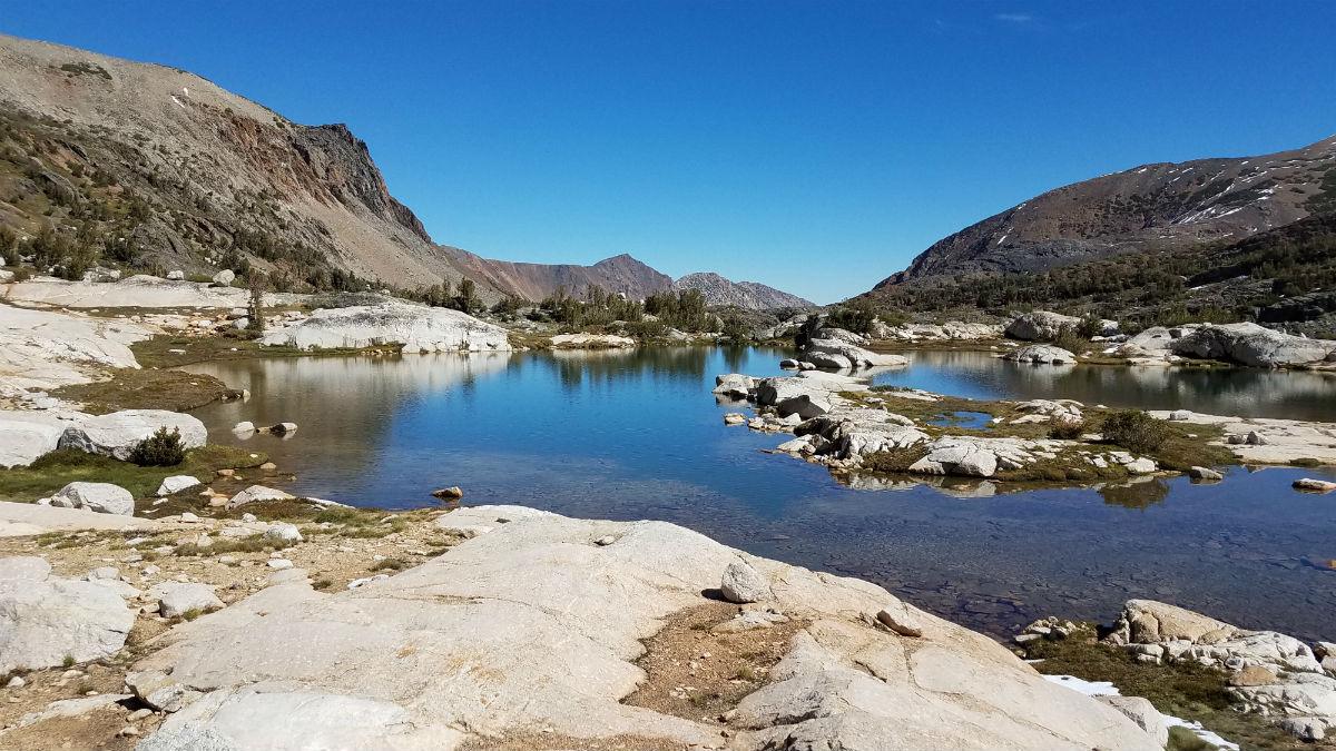 Towser Lake 20 Lakes Basin