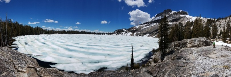 May Lake spring Thaw