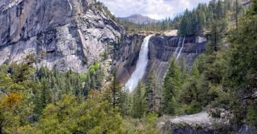 Nevada-Falls-from-JMT-Yosemite