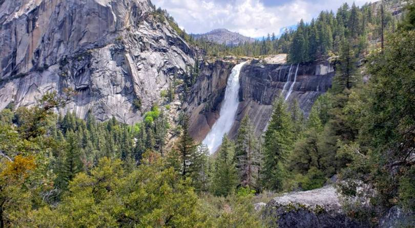 Nevada-Falls-from-JMT-Yosemite