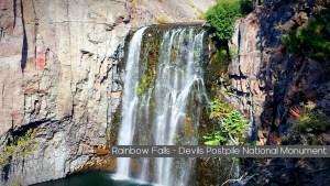 Rainbow Falls Devils Postpile