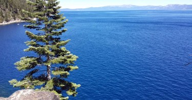 Lake Tahoe from Rubicon Trail