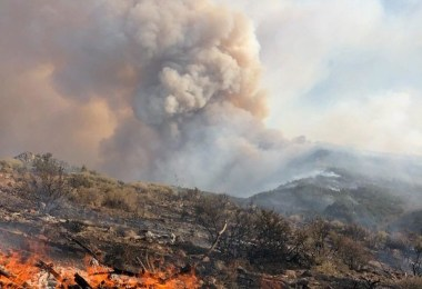 BLM california fire image