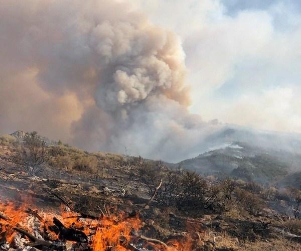 BLM california fire image