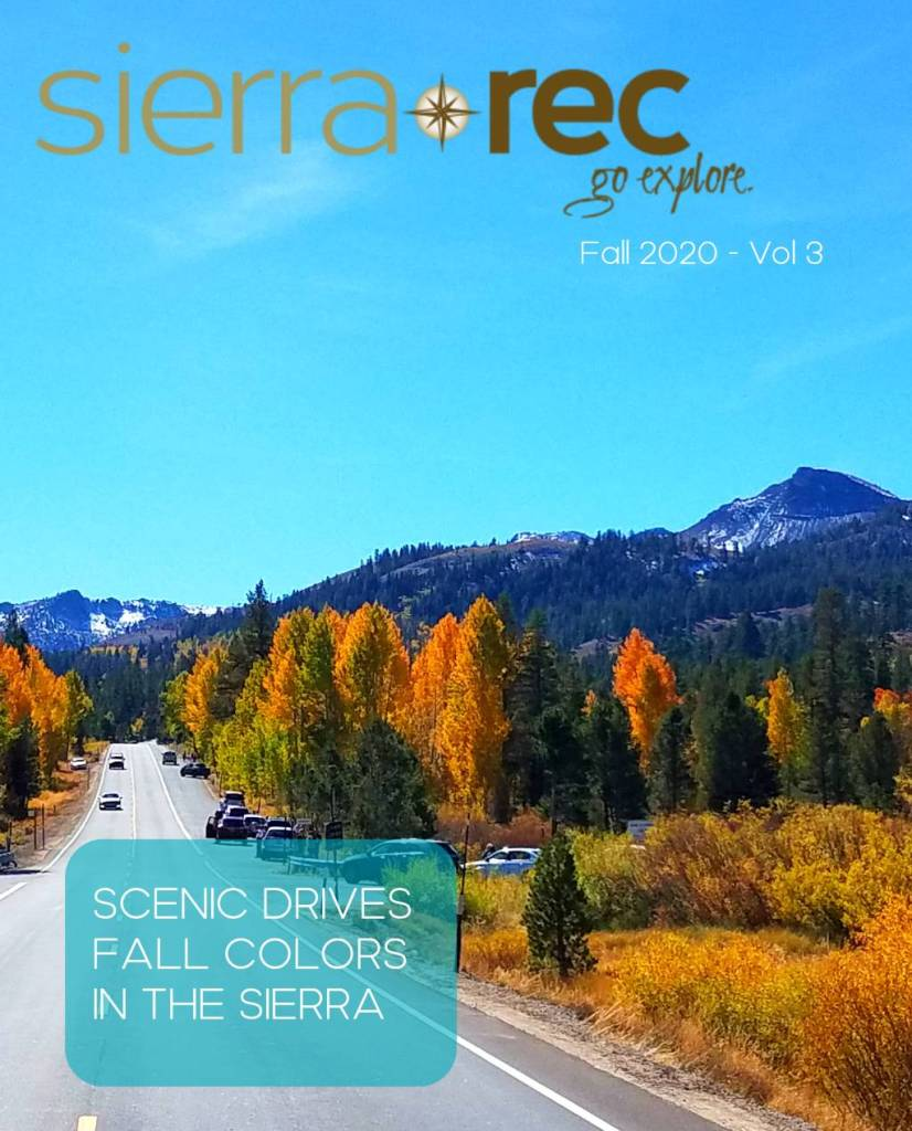 Fall 2020 Cover sierra Rec magazine