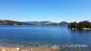 Loon lake crystal basin