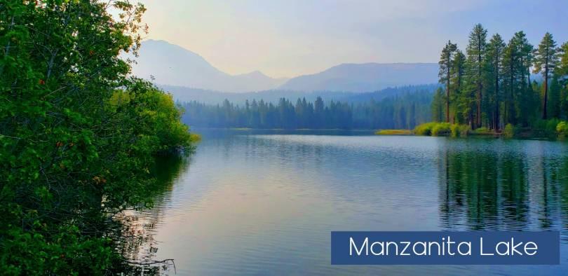 Manzanita Lake Lassen