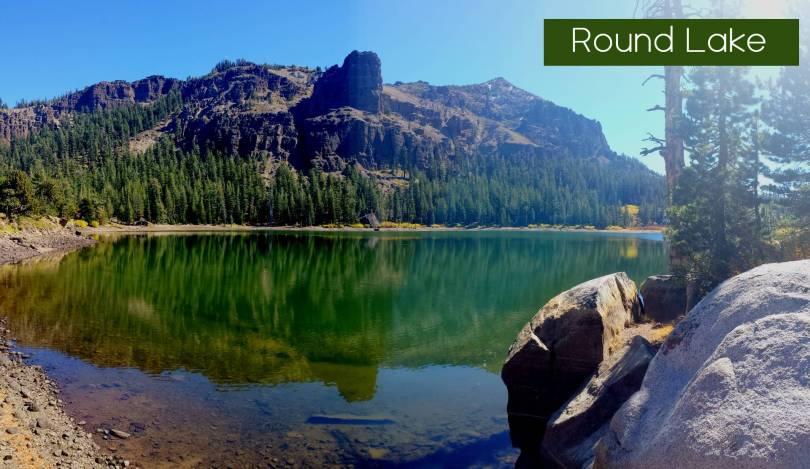 Round Lake Eldorado National forest Meiss Area