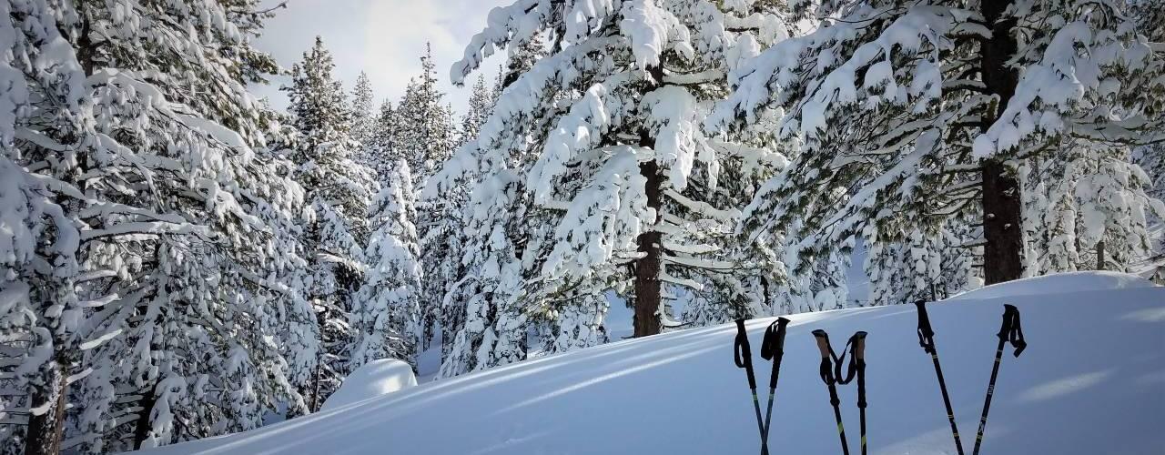 Spooner TRT Snowshoesing