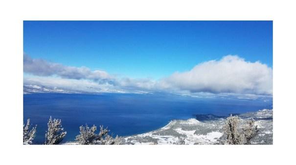 Van sickle snowshoe Lake Tahoe