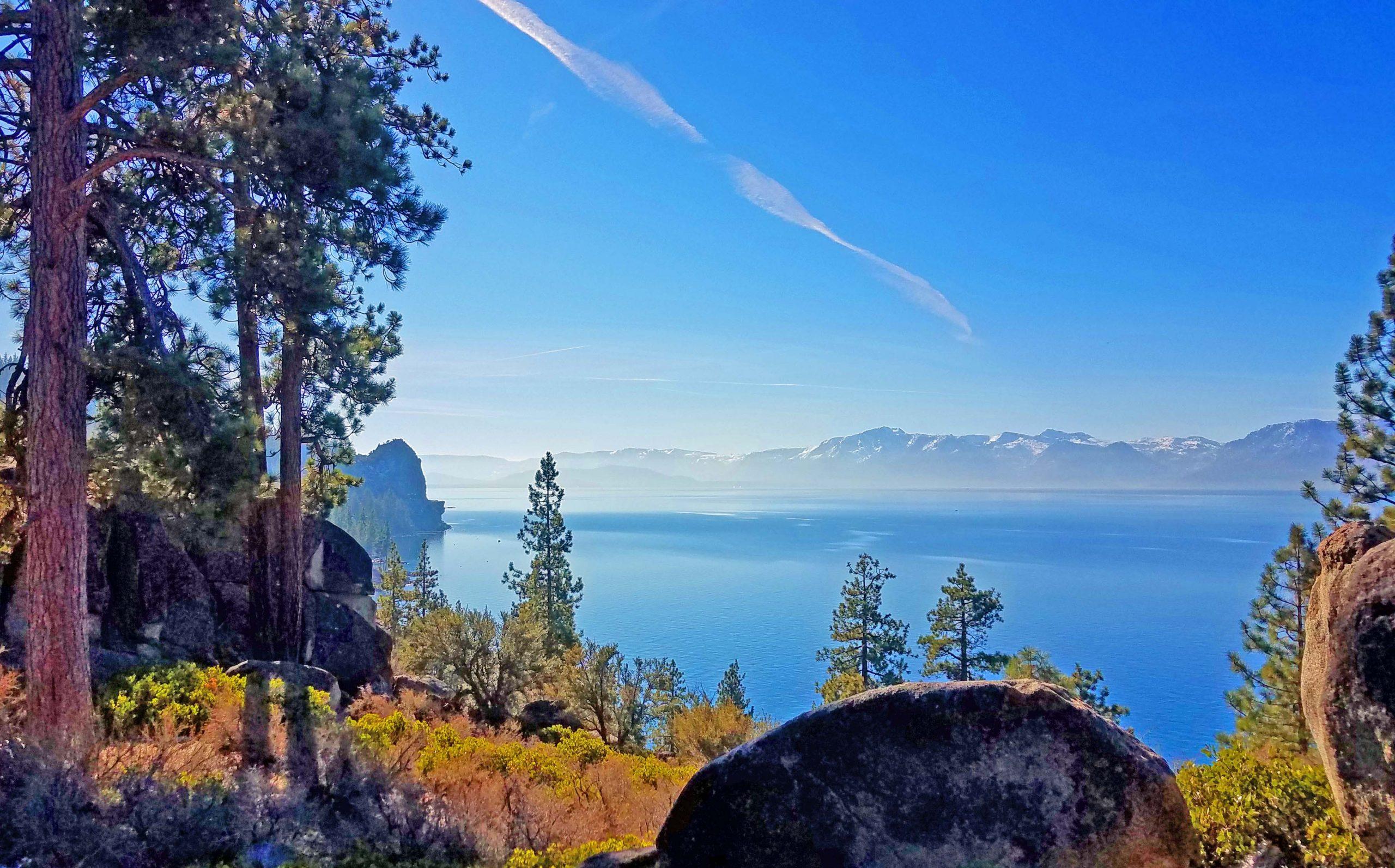 Lake tahoe Cave Rock
