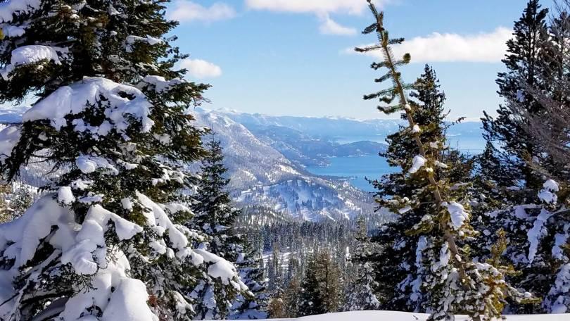 Lake tahoe from chickadee Ridge
