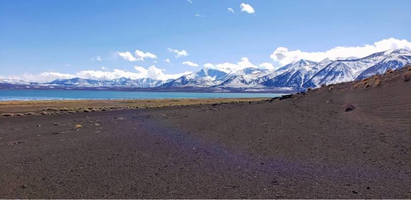 Black Sand Mono Lake