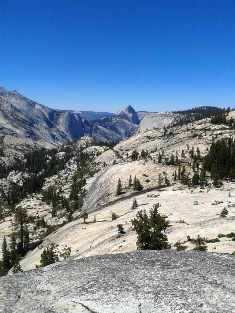 Yosemite NP odemont point Halfdome