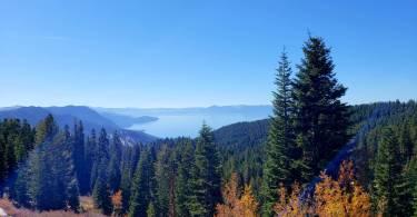 Lake Tahoe Chickadee Ridge view