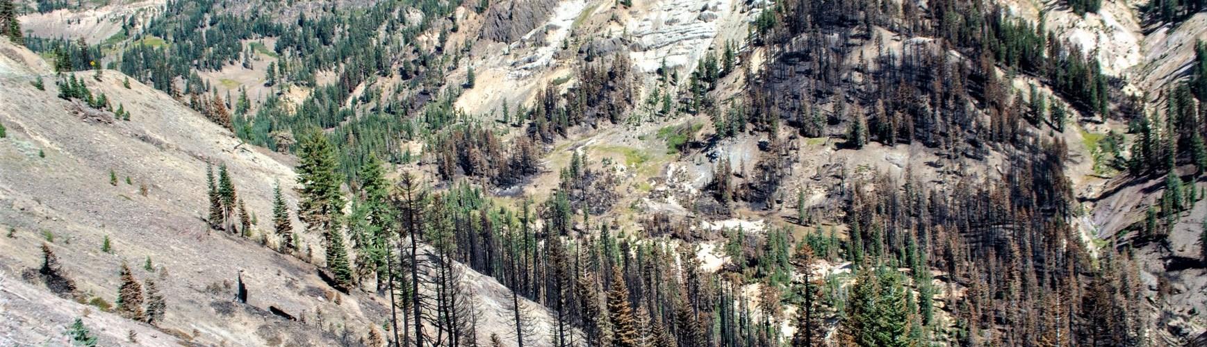 Little-Hot-Springs-Valley-and-Lassen-Peak