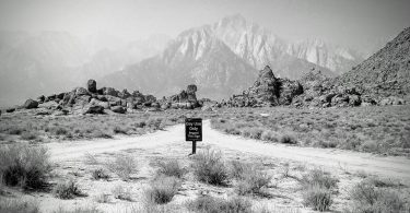 BLM image of Alabama Hills Day use