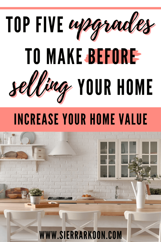 home upgrades to make before selling