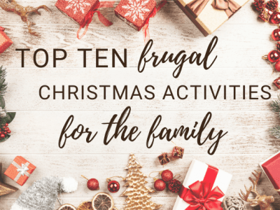 top ten frugal christmas activities for the family