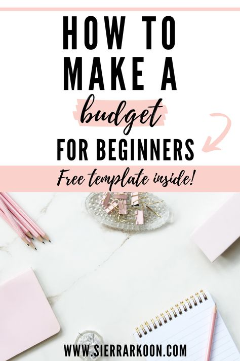 how to make a budget simple steps for beginners