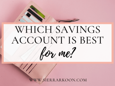 which savings account is best for me