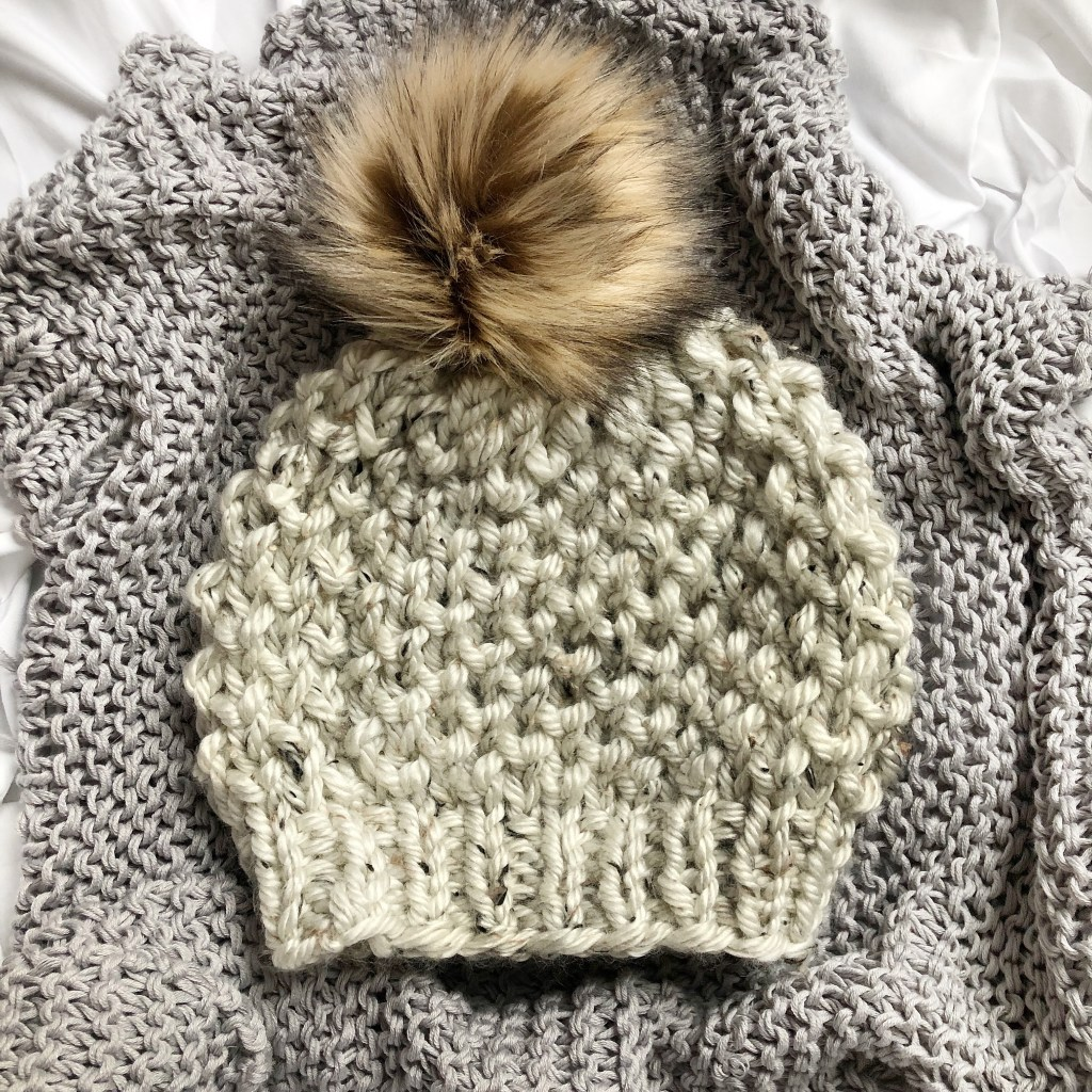 d56f92d604fd90 I am so excited to share this fun textured and super squishy knit beanie  with you! If you follow me on Instagram, you know I am just now dabbling  into ...