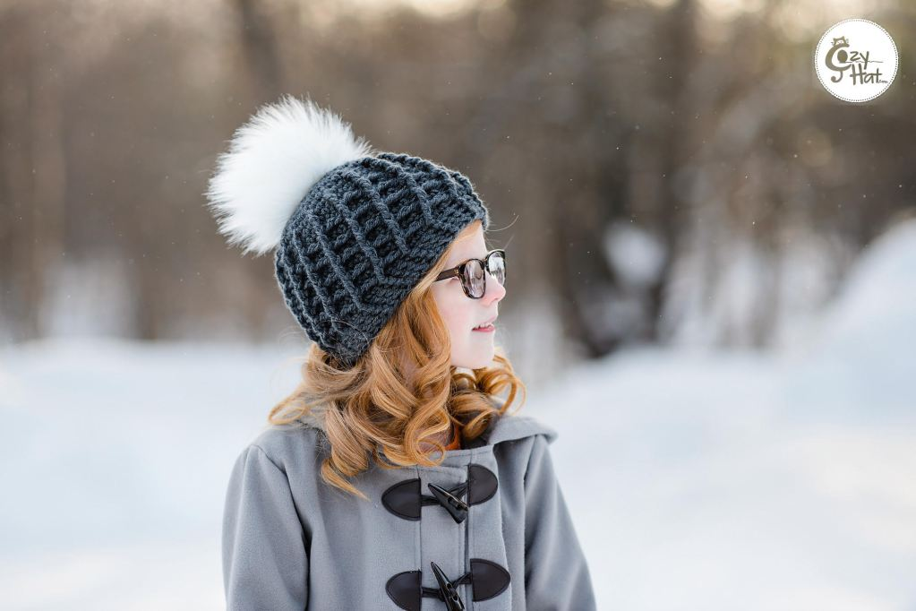 """d0bcf8382f5e42 First up we have this super fun textured beanie, called the """"Sofia Ribbed  Beanie"""". Created by Anastasia of @cozyhat"""