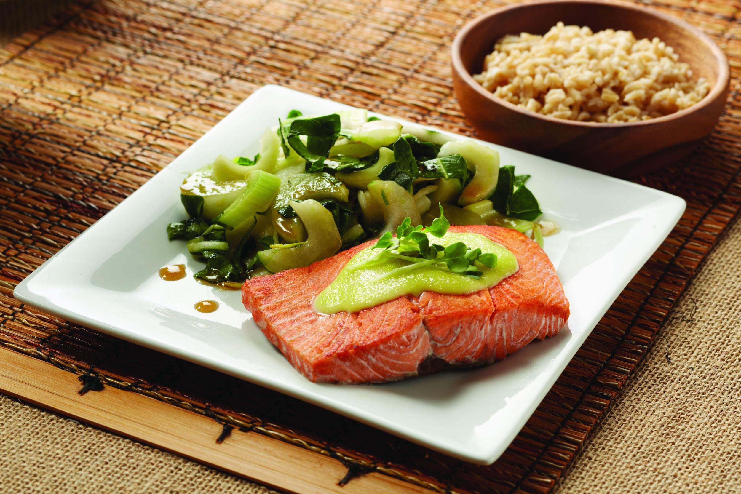 Alaska Salmon Shanghai Salad Image