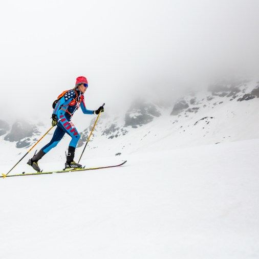 sierra winter skimo