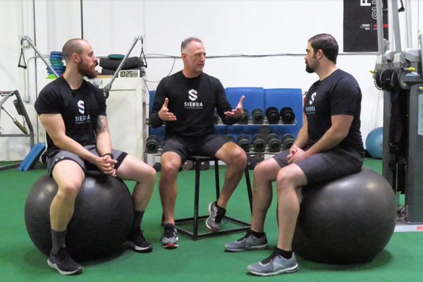 Travis Wilson, Rob Conatser, and Casey Gleason discuss their top three favorite exercises.