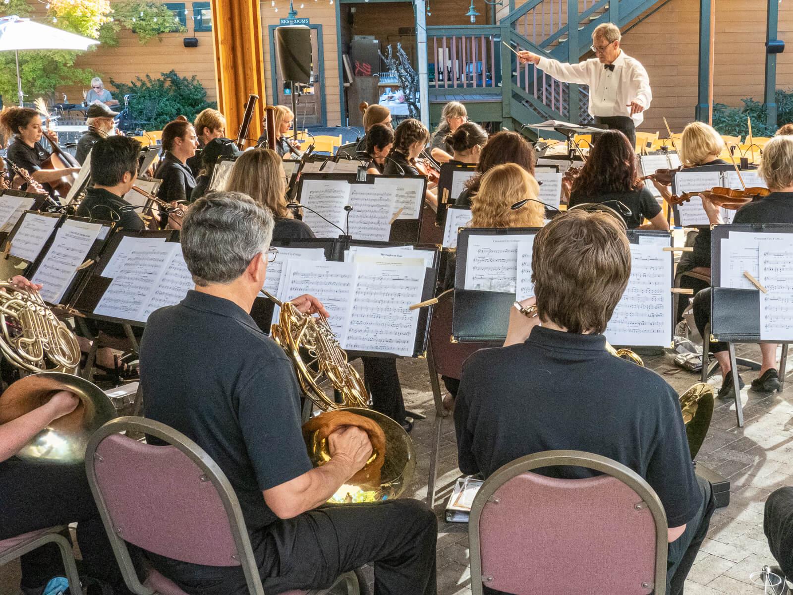 Sierra Symphony Pops Concert performance