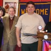 Pictured:  Pat Nahin, Dr. Leo Pisculli, Charles Ables and Randy Van TassellPhoto by Ed Nahin
