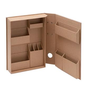 ライフスタイルツールでデスクまわりスッキリ!おしゃれな収納ボックス。