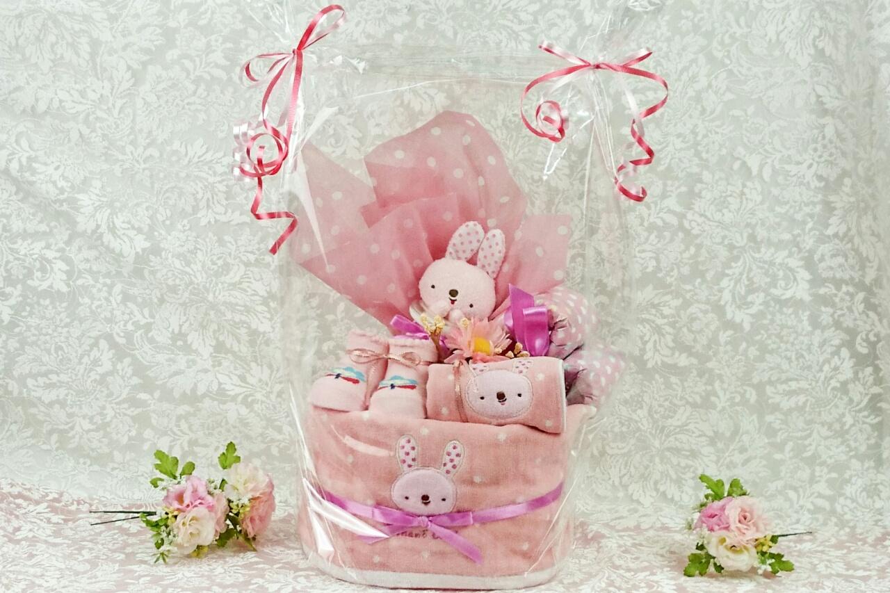 「おむつケーキ」送料無料!出産祝いにおむつケーキを贈りませんか。